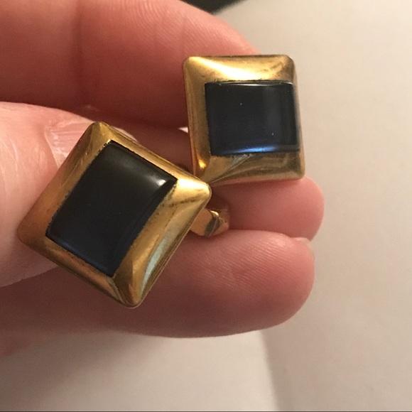 7806280fabbd Vintage Accessories | Swank 10k Gold Blue Midcentury Modern ...